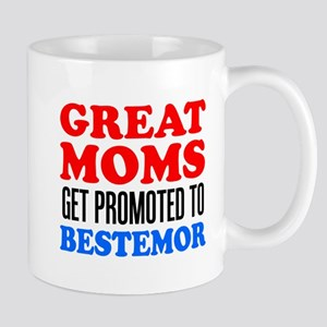 Promoted To Bestemor Drinkware Mugs
