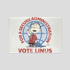 Vote Linus Rectangle Magnet