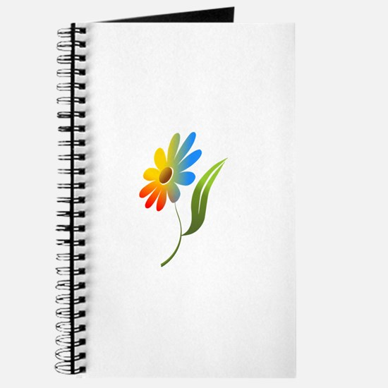 Rainbow Flower Journal