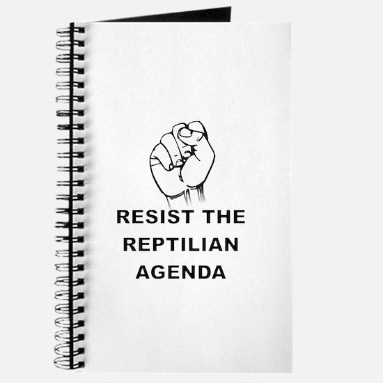 Resist The Reptilian Agenda Journal