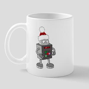Christmas Robot Mug