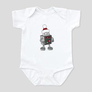 Christmas Robot Infant Bodysuit