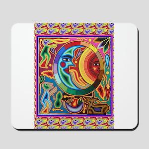 Mexican_String_Art_Image_Sun_Moon Mousepad