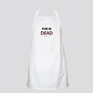 Fur Is Dead BBQ Apron