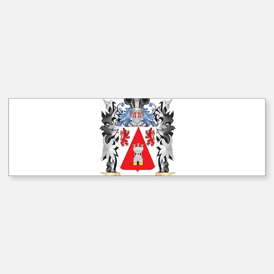 Hendrichs Coat of Arms - Family Cre Bumper Bumper Bumper Sticker