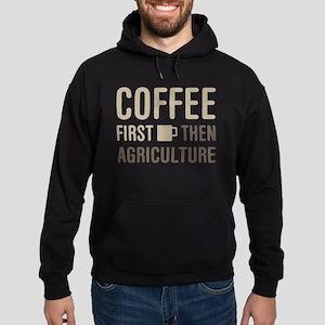 Coffee Then Agriculture Hoodie (dark)