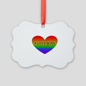 Love Picture Ornament
