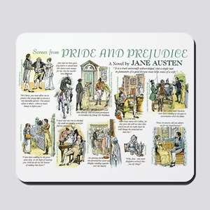 Scenes from Pride and Prejudice Mousepad