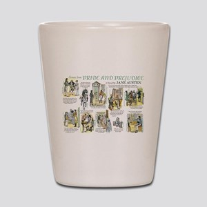 Scenes from Pride and Prejudice Shot Glass