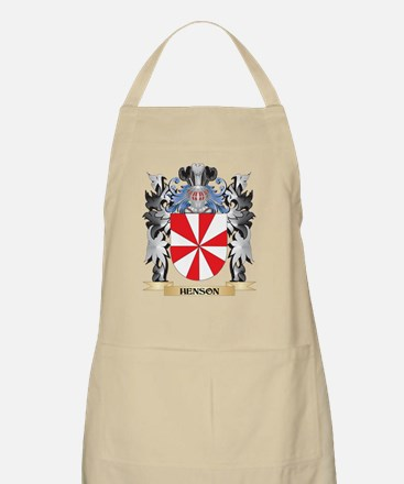 Henson Coat of Arms - Family Crest Apron