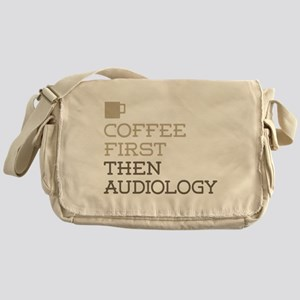 Coffee Then Audiology Messenger Bag