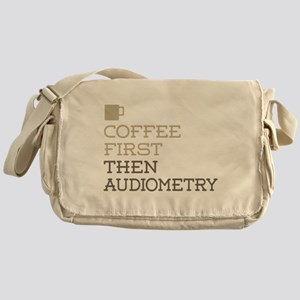 Coffee Then Audiometry Messenger Bag