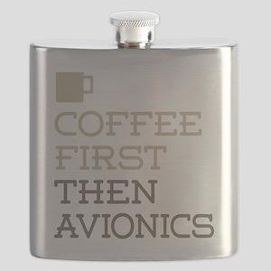 Coffee Then Avionics Flask