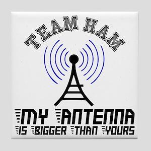 Team Ham Tile Coaster