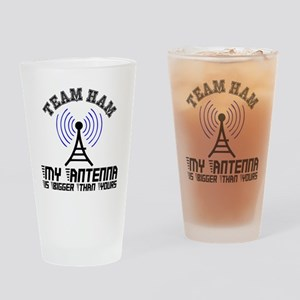 Team Ham Drinking Glass