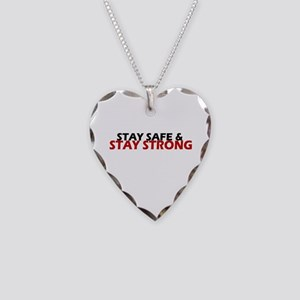 Safe & Strong Necklace Heart Charm