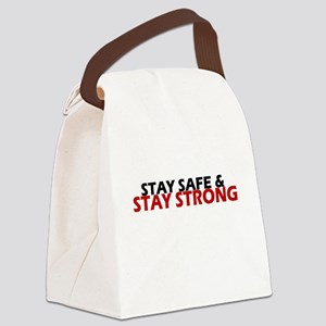 Safe & Strong Canvas Lunch Bag