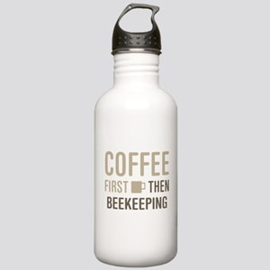 Coffee Then Beekeeping Stainless Water Bottle 1.0L