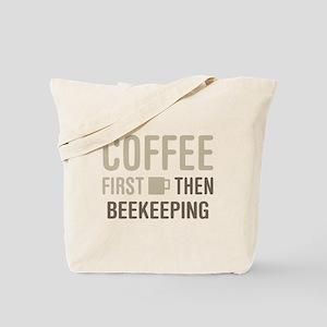 Coffee Then Beekeeping Tote Bag