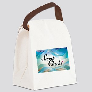sweet cheeks 2 Canvas Lunch Bag