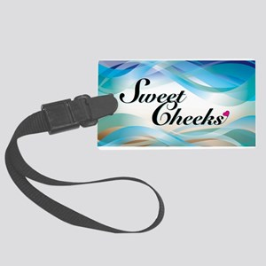 sweet cheeks 2 Large Luggage Tag