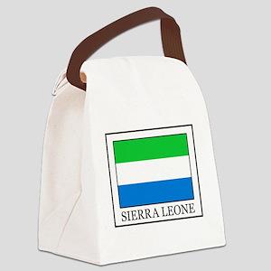 Sierra Leone Canvas Lunch Bag