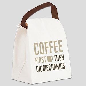 Coffee Then Biomechanics Canvas Lunch Bag