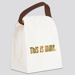 This is mine. Canvas Lunch Bag