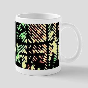 Disrupted Diagonals Mugs