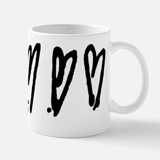 3 Crooked Hearts Mug