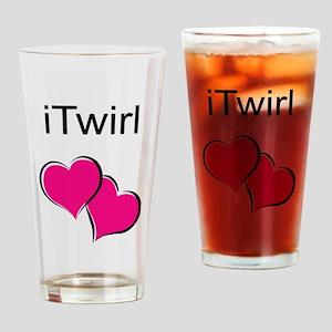 iTwirl Baton Drinking Glass