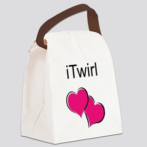 iTwirl Baton Canvas Lunch Bag