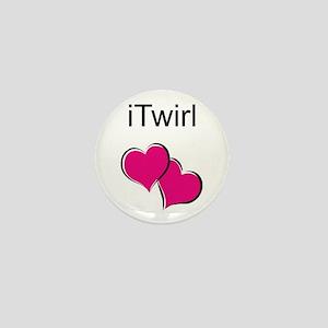 iTwirl Baton Mini Button