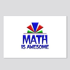 Math is Awesome Postcards (Package of 8)