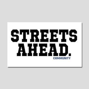 Streets Ahead Community Tv Show Car Magnet 20 X 12