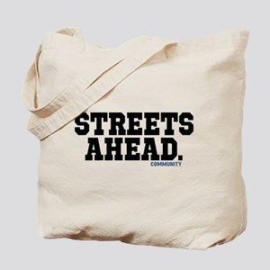 Streets Ahead Community Tv Show Tote Bag
