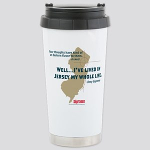 The Sopranos Jersey Stainless Steel Travel Mug