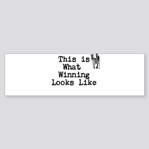 Winning Bumper Sticker