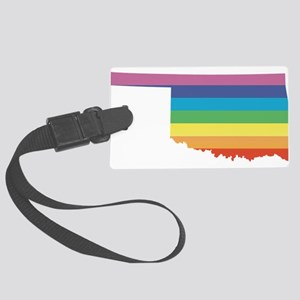 oklahoma rainbow Luggage Tag