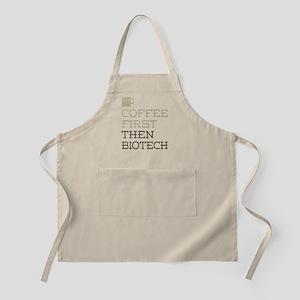 Coffee Then Biotech Apron