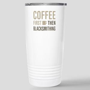 Coffee Then Blacksmithi Stainless Steel Travel Mug