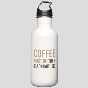 Coffee Then Blacksmith Stainless Water Bottle 1.0L