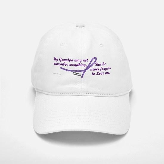 Never Forgets To Love (Grandpa) Baseball Baseball Cap
