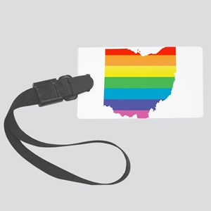 ohio rainbow Luggage Tag