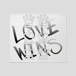 LOVE WINS! LGBT Victory! Throw Blanket