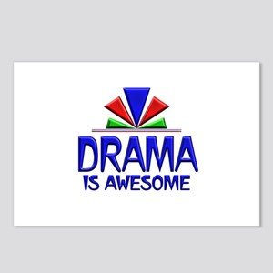 Drama is Awesome Postcards (Package of 8)