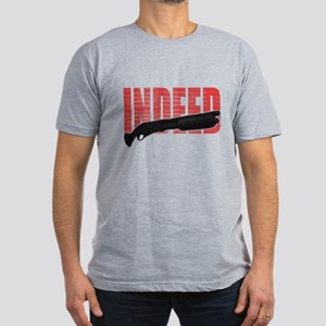 The Wire Indeed Men's Fitted T-Shirt (dark)