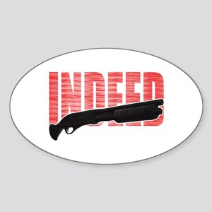 The Wire Indeed Sticker (Oval)