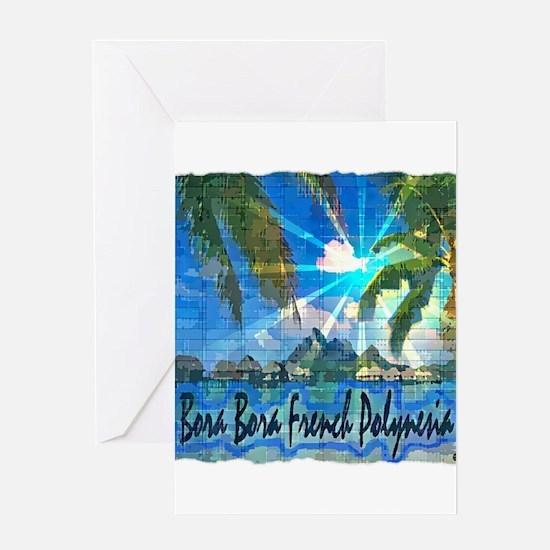 Bora Bora French Polynesia Greeting Cards