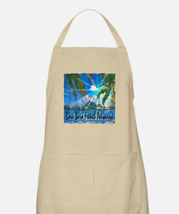 Bora Bora French Polynesia Light Apron